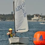 Kids sailing photography