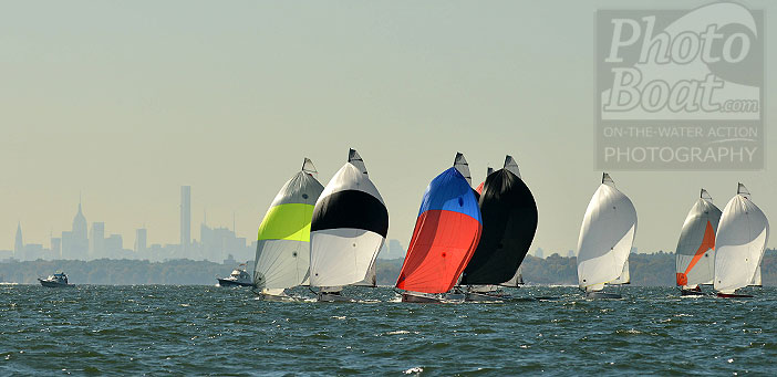 Sailboats NY Skyline